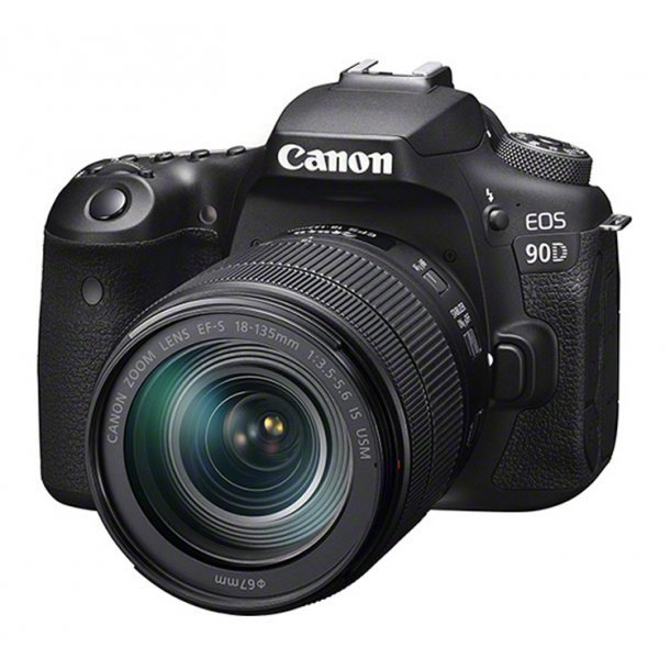 Canon EOS 90D Inkl. 18-135 mm IS USM