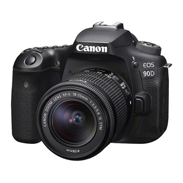 Canon EOS 90D Inkl. 18-55 mm IS STM