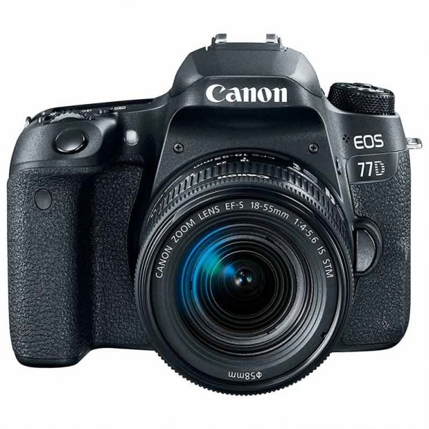 Canon EOS 77D m. EF-S 18-55 IS STM